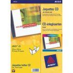POCHETTE DE 200 ÉTIQUETTES AVERY POUR CD ET DVD - IMPRESSION JET D