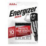 PILE MAX AAA - LOT DE 4 - ENERGIZER