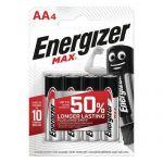 PILE MAX AA - LOT DE 4 - ENERGIZER