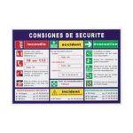 Achat - Vente Consignes de sécurité