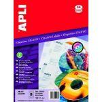 AGIPA 02928 ÉTIQUETTES CD/DVD JET D