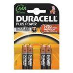 PILE AAA LR3 DURACELL PLUS POWER - BLISTER DE 4