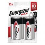 PILE MAX D - LOT DE 2 - ENERGIZER