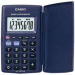 CALCULATRICE DE POCHE CASIO HL-820VER 8 CHIFFRES BLEU