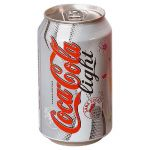 COCA-COLA BOITES COCA COLA LIGHT 33 CL (LOT DE 24)