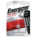 PILE BOUTON OXYDE ARGENT 357-303  - ENERGIZER