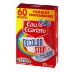 LINGETTES DÉCOLOR STOP EAU ECARLATE - BOÎTE DE 60