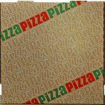 BOITE À PIZZA CARTON MICRO-CANNELURE - 100 UNITÉS