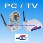 CAMERA SANS FIL LONGUE PORTEE + RÉCEPTEUR USB / RCA + LOGICIEL