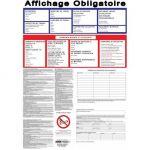 AFFICHAGE OBLIGATOIRE 2016