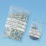 STAPLES CARTON DE 1000 SACHETS PLASTIQUES - AVEC BANDES D'ÉCRITURE - 12 X 18 CM