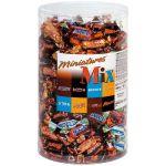 MARS BOÎTE DE BARRES CHOCOLATÉES MINIATURES MIX - (SNIKERS, BOUNTY, TWIX ET MARS)-  3KG
