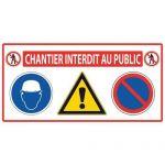 PANNEAU DE SIGNALISATION 4 EN 1 - MONDELIN
