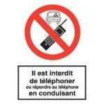 TELEPHONE PORTABLE INTERDIT