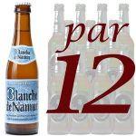 BIERE - BLANCHE DE NAMUR 25CL PAR 12