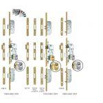 SERRURE 3 POINTS À LARDER 5000 TRILOCK SGN2 T18 VACHETTE -  A2P** - AXE 50 MM - 18002000
