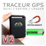TRACEUR GPS ESPION / VOITURE / MOTO -  LOCALISATION GSM FACILE