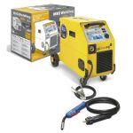 POSTE SOUDURE SMARTMIG 162 230 V MIG/MAG ET NO GAZ AVEC CÂBLE DE MASSE ET TORCHE EURO 2.2 M