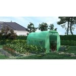 SERRE DE JARDIN TUNNEL 7M2 - 3,5X2M - GREEN ROOF
