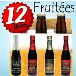 12 BIERES FRUITEES : LINDEMANS KRIEK, PECHERESSE..