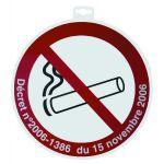 SIGNALETIQUE DEFENSE DE FUMER + DECRET