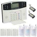 ALARME MAISON SANS-FIL FILAIRE TRANSMETTEUR GSM EMATRONIC AL01 3-4 PIÈCES