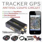 TRACKER GPS VOITURE / MOTO ANTIVOL COUPE CIRCUIT + 2 TÉLÉCOMMANDES GT38