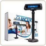 AFFICHEUR CAISSE GLANCETRON 8035