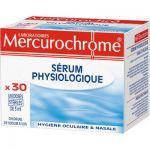 DOSES DE SERUM PHYSIOLOGIQUE MERCUROCHROME - 5ML - BOÎTE DE 30