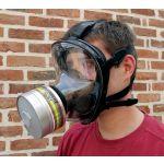 MASQUE DE PROTECTION RESPIRATOIRE ANTI-GAZ COMPLET