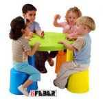 *TABLE FLIP FLAP 4 PLACES, MONTAGE FACILE, A PARTIR DE 2 ANS- FRAIS DE PORT OFFERTS
