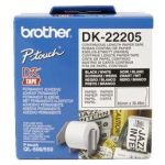 BROTHER DK-22205 CONTINUE LENGTE TAPE: 62 MM - THERMISCH PAPIER - WIT (30.48M)