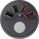 CHARGEUR USB VOLTCRAFT DAPS-4000/4 COURANT DE SORTIE (MAX.) 4000 MA 4 X USB À ENCASTRER DANS UN MEUBLE
