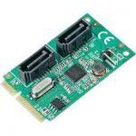 CARTE CONTRÔLEUR SATA III 041C120 MINI-PCIE 0+2 PORTS