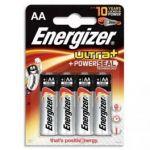 ENERGIZER BLISTER DE 4 PILES ALCALINES LR6 GAMME ULTRA+