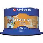DVD ENREGISTRABLE VERBATIM 4.7 GO 16X 50 UNITÉS