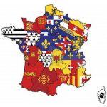 DRAPEAU DES REGIONS FRANCAISES -150X90CM- [3€-10€]