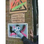 Lingettes anti-graffitis