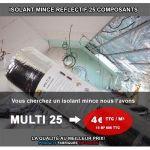 ISOLANT MINCE - 25 COMPOSANTS