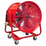 VENTILATEUR EXTRACTEUR MOBILE 400MM - 550W 380V MW-TOOLS MV400R3