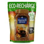 CAF&EACUTE  SOLUBLE MAXWELL HOUSE QUALITÉ FILTRE ECO-RECHARGE - 180 GR