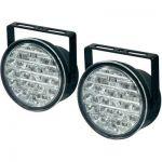 FEUX DE JOUR LED 18 LEDS 90 MM X 36 MM DINO