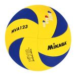BALLON DE VOLLEY MIKASA MVA 123 HOT STEP JUMP