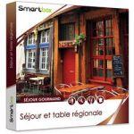 COFFRET CADEAU SMARTBOX - SÉJOUR ET TABLE RÉGIONALE EN FRANCE