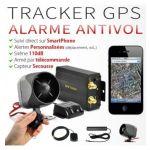 ALARME TRACKER GPS AUTO / MOTO CAPTEUR DE SECOUSSES & COUPE MOTEUR
