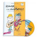 FUZEAU Livre + CD Ecoute cest pas pareil, apprentissage de la musique pour 4-5 ans