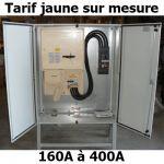 ARMOIRE DE CHANTIER TARIF JAUNE 160A, 250A OU 400A