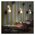 MODERNE APPLIQUE MURALE 2PCS E27 LAMPE ECLAIRAGE DECOR POUR SALON COULOIR