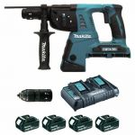 MARTEAU PERFORATEUR BURINEUR SANS FIL 36V SDS PLUS - DHR 264 PT4J MAKITA