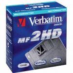 VERBATIM - BOITE DE 10 DISQUETTES 3.5 HD 1.44 MO 87410